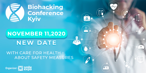 Biohacking Conference Kyiv to Take Place on November 11